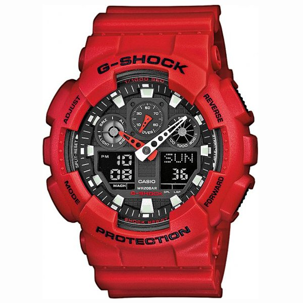 CASIO G-shock GA 100B-4A 15031947