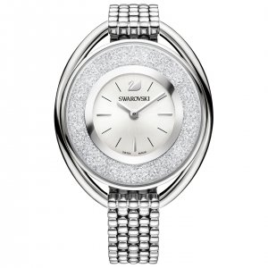 Swarovski Crystalline Oval White Bracelet Watch 5181008
