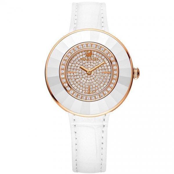 Swarovski - Octea Dressy White Rose Gold Tone Watch 5095383