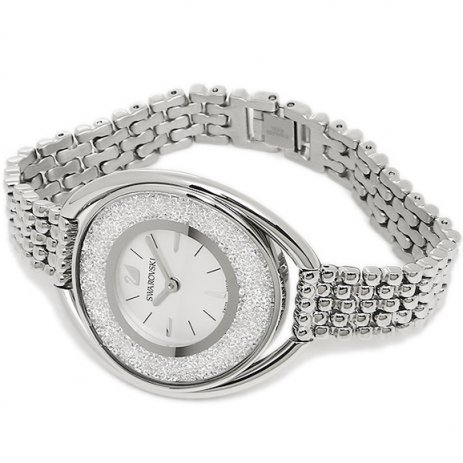 Swarovski Crystalline Oval White Bracelet Watch 5181008