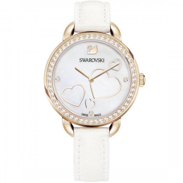 Swarovski - Aila Day Heart Watch, White 5242514