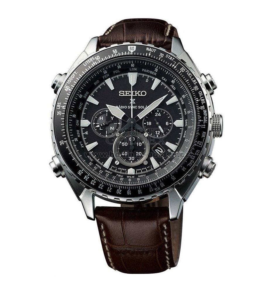 Pánské solární hodinky SEIKO SSG005P1   Hodinky-goldex.cz 73619843a44