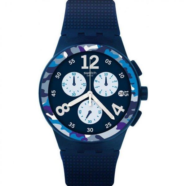 Hodinky Swatch Camoblu SUSN414