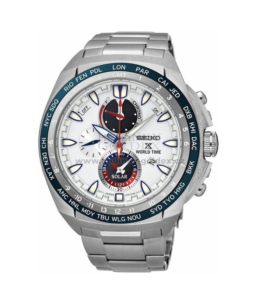Pánské solární hodinky SEIKO SSC485P1   Hodinky-goldex.cz 8cc31080300