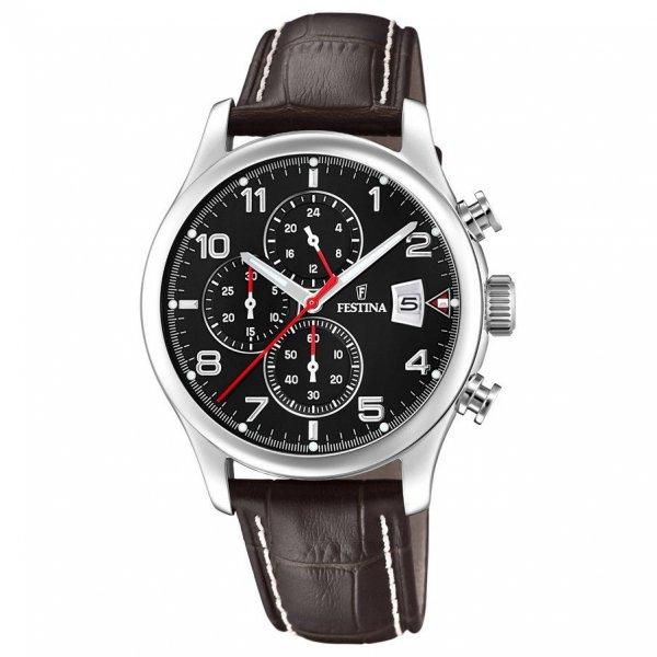 Pánské hodinky s chronografem 20375/6