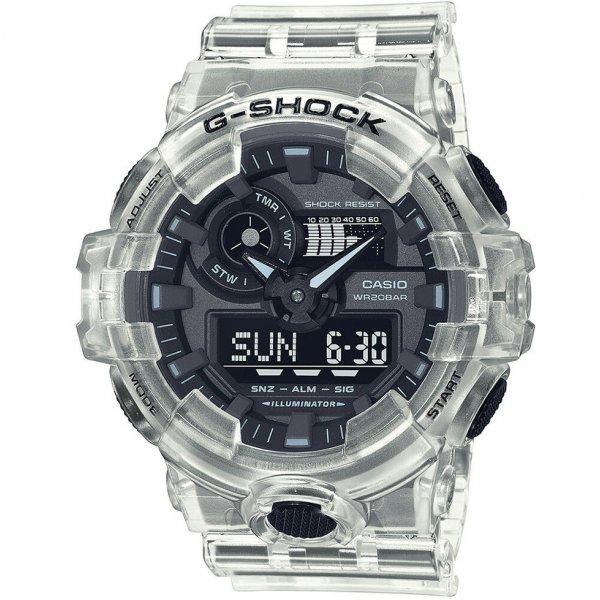 Hodinky Casio G-Shock Original - Skeleton Series GA-700SKE-7AER