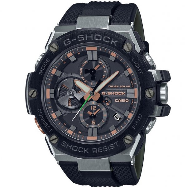 Hodinky Casio G-Shock GST-B100GA-1AER
